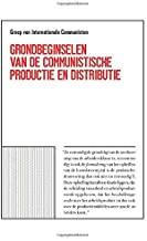 Boekomslag G.I.C. Grondbeginselen van de communistische productie en distributie